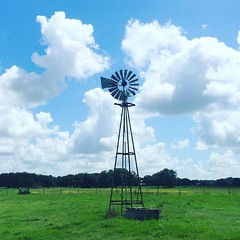 Windmill powered well? #TheWorldWalk #travel #twwphotos