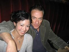 me & Jean-Claude Van Damm