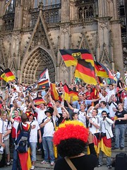 The World Cup begins! and Deutschland wins!