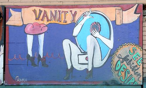 Mural: Vanity by by Franco Folini