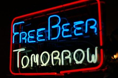 Free Beer Tomorrow by spleenboy