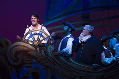 Eric Kunze as Prince Eric and Time Winters as Grimsby in Disney's The Little Mermaid presented by Broadway Sacramento at the Community Center Theater Feb. 2-7, 2016. Photo by Bruce Bennett, courtesy of Theatre Under The Stars.