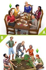 les sims 4 vivre ensemble thanksgiving