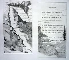 GOLGOTA, LA GUIDA, acqueforti su rame