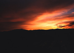 Red Rock Sunset, Las Vegas, NV