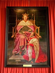 Portrait of King Richard II and Ralph 1st Lord...