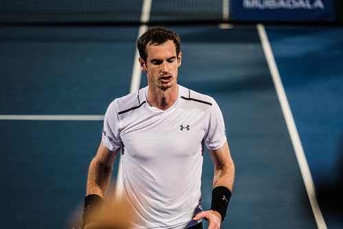 """Andy Murray has a habit of talking to himself • <a style=""""font-size:0.8em;"""" href=""""http://www.flickr.com/photos/125636673@N08/31841955352/"""" target=""""_blank"""">View on Flickr</a>"""