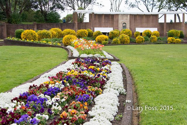 At the Michael Joseph Savage Memorial Park
