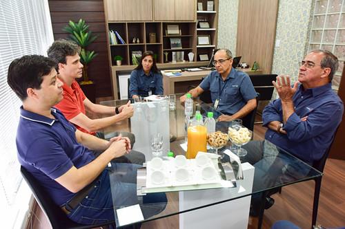 Luiz Henrique Alves, Cláudio Zambaldi, Gabriela Dias Cardoso, Roberto Maia e Rômel
