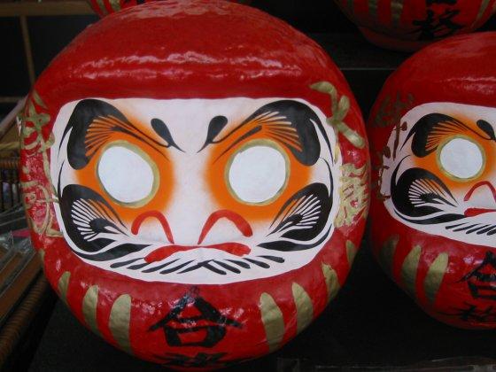 Daruma at Dazaifu Tenmangu Shrine, near Fukuoka