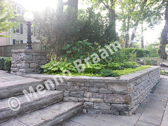 Menno-braam-stone-steps-wall-with-Pillars-2