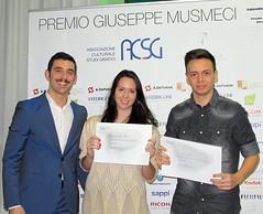 Corrado Musmeci e i vincitori del Primo Premio