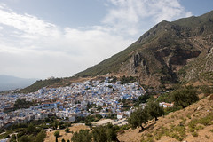 Chefchaouen (view from Spanish mosque)