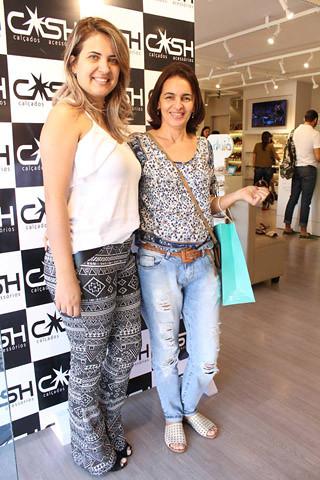 Eliane Paranhos e Silvânia Fróes