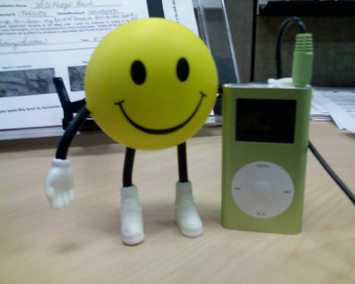 Happy Face iPod