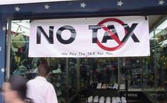 NO (no) TAX