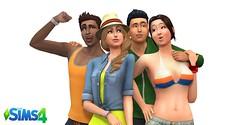 Les Sims 4 renders