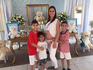 Sobrinhos  Samuel, Heitor e Vinicius