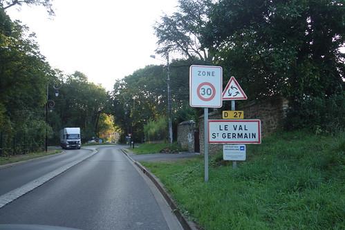 Le Val St Germain, nous voici !