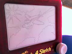 Etch-A-Sketch Airplane