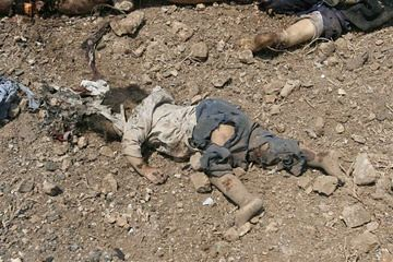 casualty of war, Lebanon 2006 AP photo