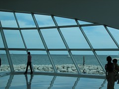 Lake Michigan as Viewed From The Milwaukee Art Museum