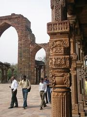At Qutab Minar, Delhi