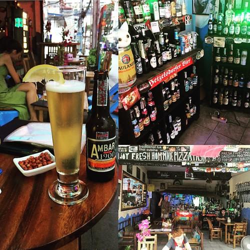 150 Sorten #Bier 150 kinds of #Beer  @ #Enjoy #BKK #Bar & #Bistro #Bangkok #Thailand   #thailoup #traveloup