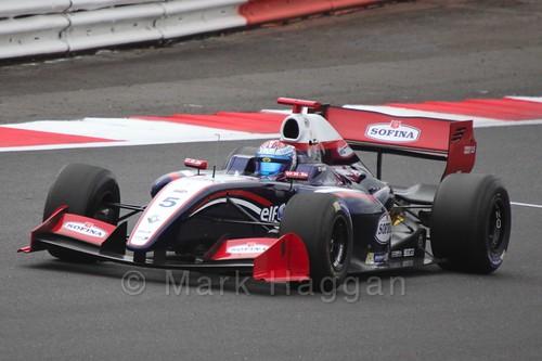 Nicholas Latifi in Saturday's Formula Renault 3.5 Race at Silverstone