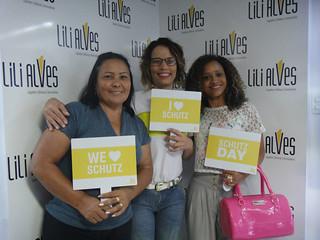 Bruna Ribeiro foi com a mãe, recebidas por Celeste