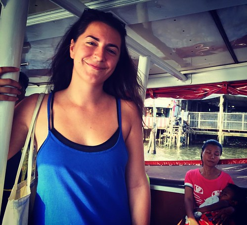 On the #boat with @lapisla1  @ #Bangkok #Thailand  #thailoup #traveloup