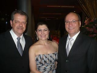 Jaime, Márcia Bonisenha e Dionísio Pimenta