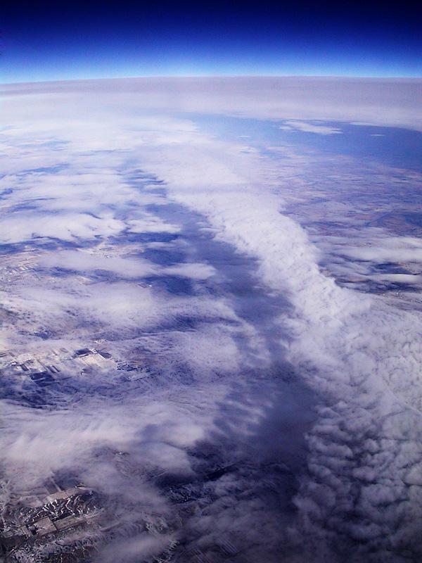36,000 feet over Michigan