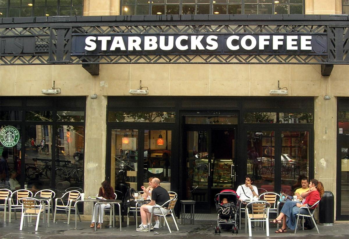 Cafe, Starbucks, coffee, local store