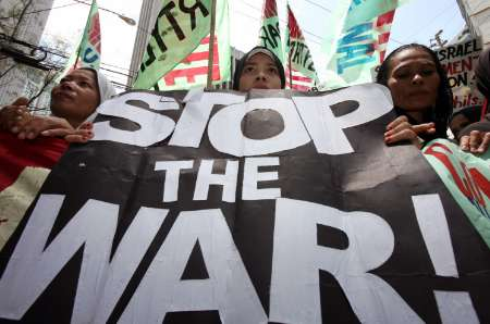 Manila protest against Israeli war on Lebanon 2006