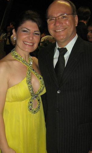 Márcia Bonicenha e Dionísio Pimenta