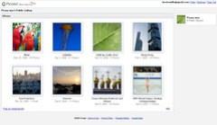 Picasa compite con Flickr