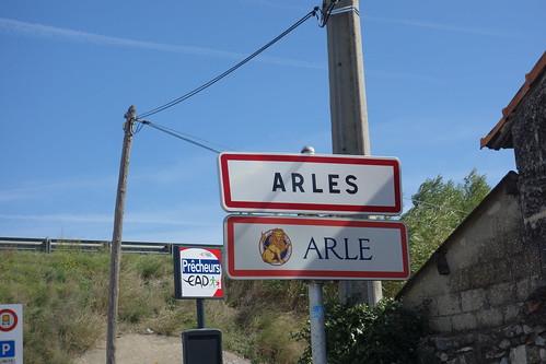 L'après-midi, découverte de la ville antique d'Arles, sous les conseils des élèves