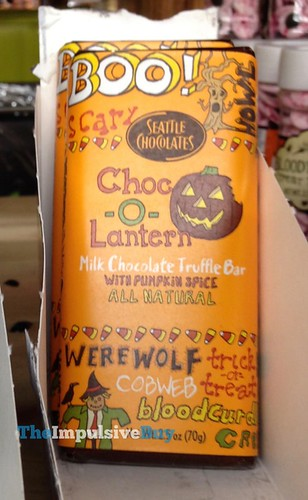 Seattle Chocolates Choc-o-Lantern Milk Chocolate Truffle Bar with Pumpkin Spice