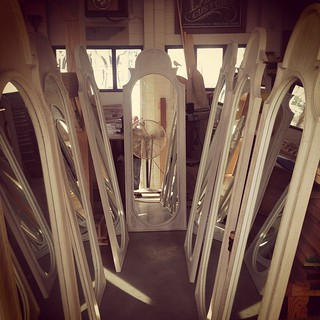 Hall of mirrors... #langecustoms , #whosthecreeperinthereflection