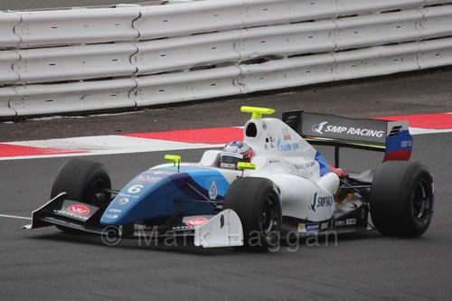Egor Orudzhev in Saturday's Formula Renault 3.5 Race at Silverstone