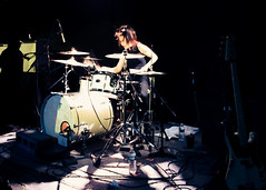 """Savages - 2015 NYC Residency, Mercury Lounge, New York City, NY 1-21-15 • <a style=""""font-size:0.8em;"""" href=""""http://www.flickr.com/photos/79463948@N07/23540083796/"""" target=""""_blank"""">View on Flickr</a>"""