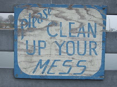 Please Clean Up Your Mess by allen.goldblatt