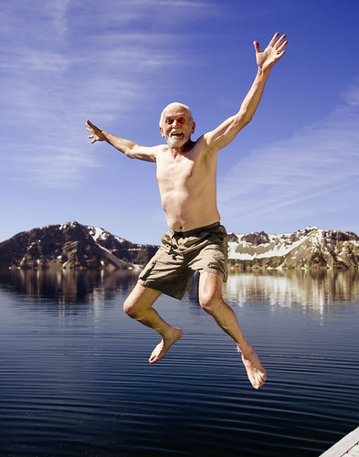 Crazy Old Man of Crater Lake