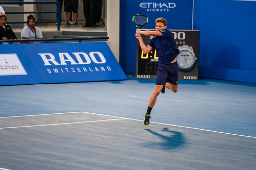 """David Goffin's backhand against Andy Murray • <a style=""""font-size:0.8em;"""" href=""""http://www.flickr.com/photos/125636673@N08/31953028226/"""" target=""""_blank"""">View on Flickr</a>"""