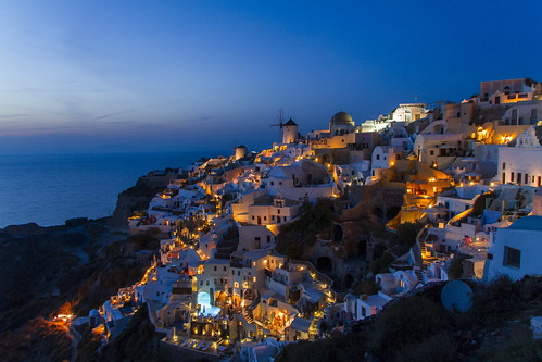 Oia @ night 3