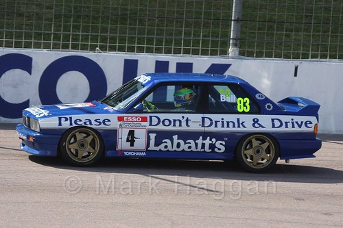 Historic Touring Cars at Rockingham