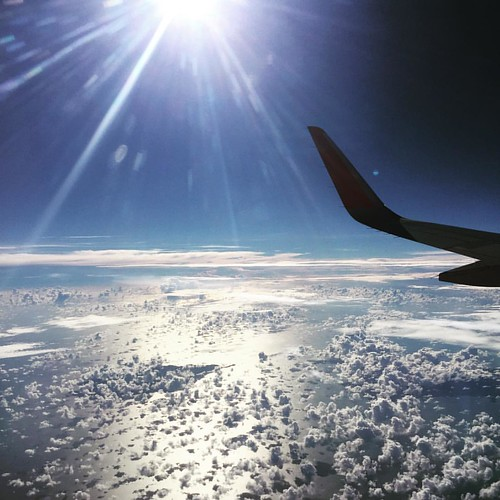 #KoPanganh#KoPangan #clouds #AirAsia above #SuratThani  @ #Airplane #Thailand #thailoup #traveloup