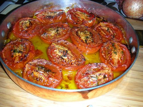 mmmMMMMmm roasted romas