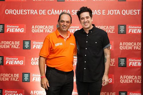 Luciano Araújo e Rogério Flausino